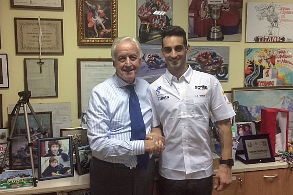 IodaRacing konfirmasi rekrut Mercado di WorldSBK 2017