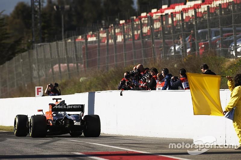 В McLaren решили снова заменить мотор