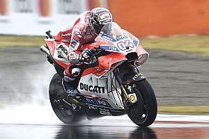 MotoGP Practice report Motegi MotoGP: Dovizioso tops FP2, Marquez crashes