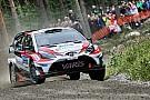 WRC Экипажи Toyota возглавили Ралли Финляндия