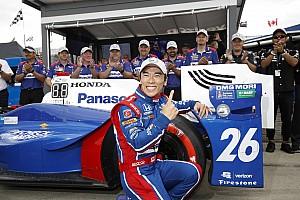 IndyCar Qualifiche Sato centra la pole per Gara 2 e regala l'intera prima fila al team Andretti