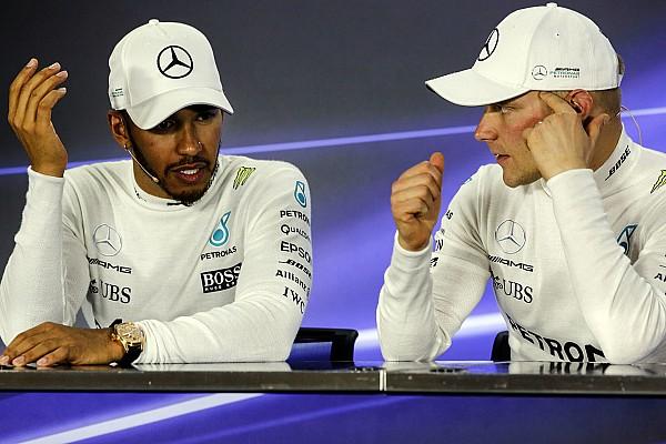 Mercedes ingin ciptakan rivalitas Hamilton-Bottas