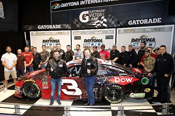 Austin Dillon writes his Daytona 500 history – in permanent ink
