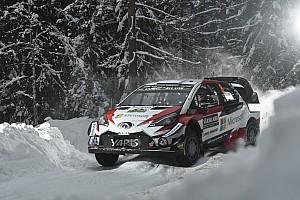 WRC Resumen de la etapa Tanak manda en el arranque en Suecia
