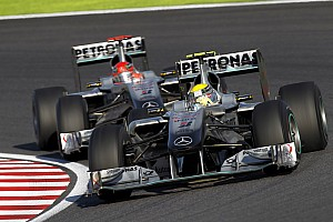 Rosberg had aanvankelijk angst voor Michael Schumacher