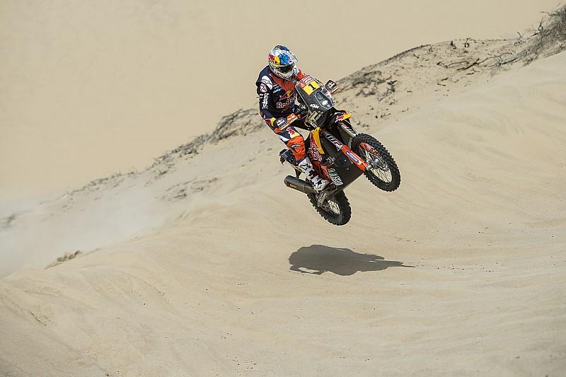 Quintanilla en tercero en la primer etapa del Dakar
