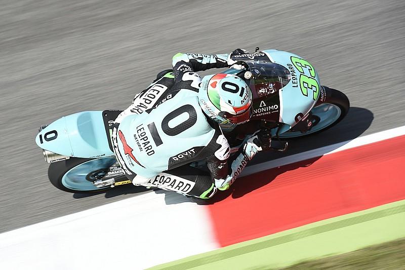 Bastianini y una caída dejan a Martín sin el récord de poles en Moto3