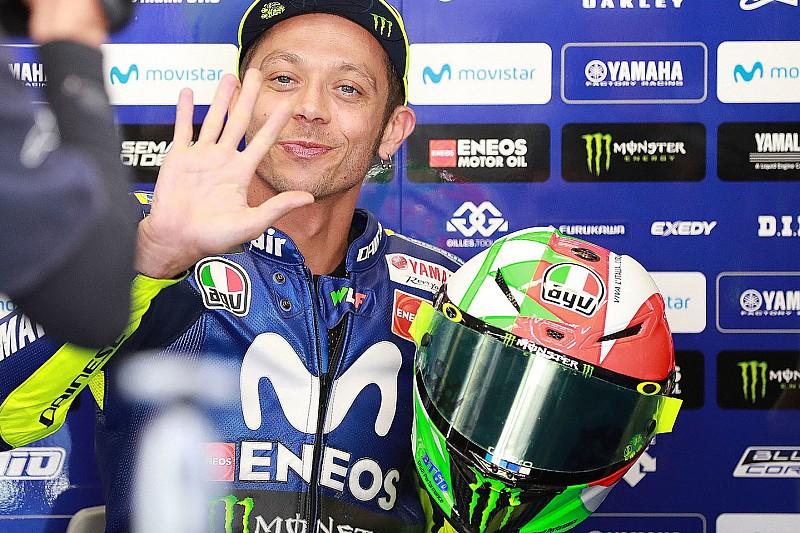 Rossi-Party in Mugello: 65. Pole