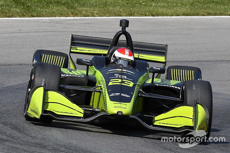 Kimball reveals part-time IndyCar schedule