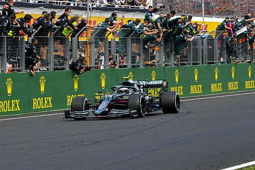 Aston Martin confirms F1 appeal on Vettel's Hungarian GP disqualification
