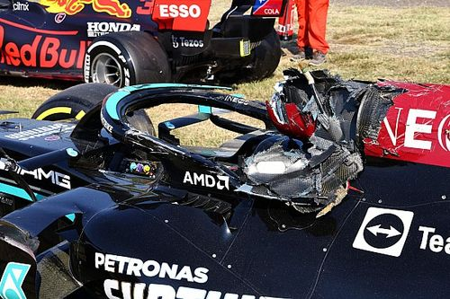 Science, not luck saved Hamilton in Monza F1 crash - halo uni director