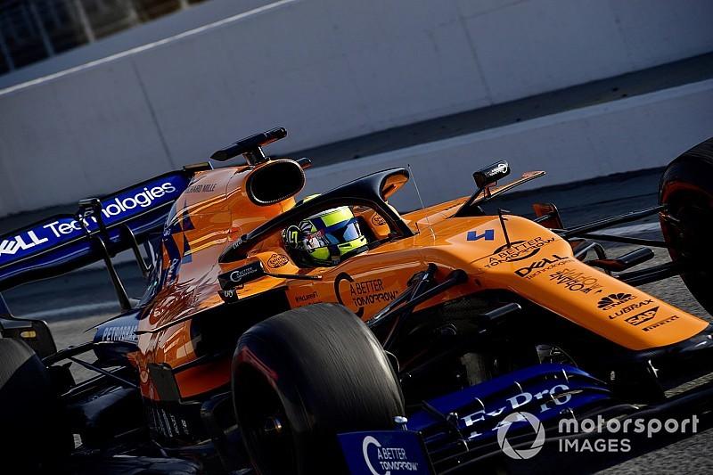 Norris dice que McLaren está en una