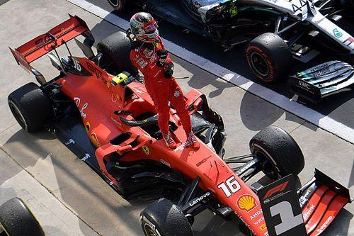 F1: Veja o que Leclerc fez com a Ferrari que venceu em Monza e Spa