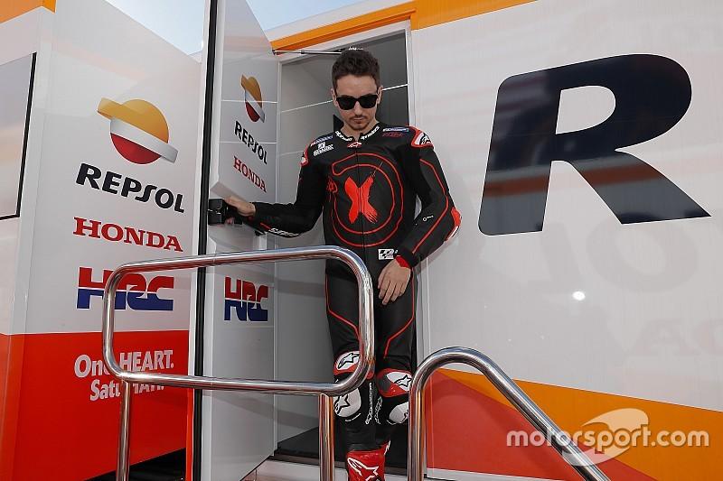 Lorenzo se someterá a pruebas médicas para descartar una posible lesión en una mano