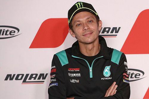 """Valentino Rossi : """"C'est toujours triste quand on arrive à la fin"""""""
