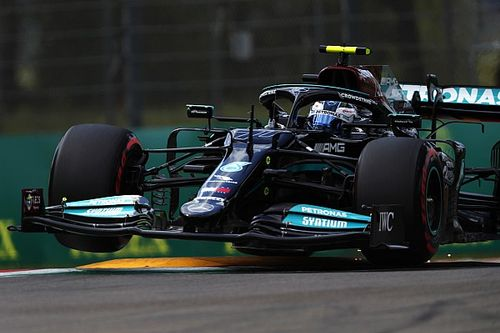 Bottas 'couldn't trust rea -end' of Mercedes car in Imola Q3