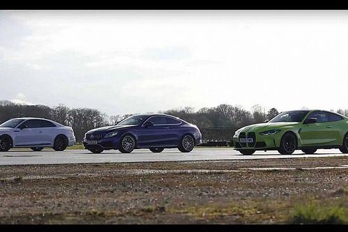 A BMW M4, a Mercedes-AMG C63 vagy az Audi RS5 a prémium sportkupék királya?
