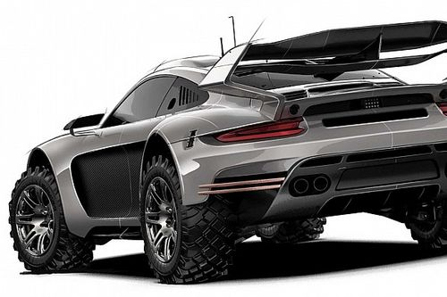 First official video of Gemballa's off-road Porsche 911 project