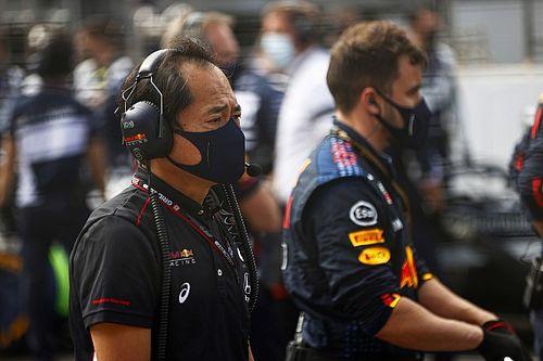 Honda-chef Tanabe viert derde zege op rij, prijst bijdrage Perez