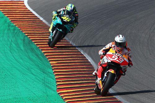 Marquez: MotoGP 'losing biggest part' with Rossi retiring