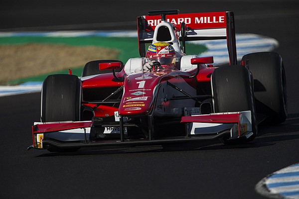 FIA F2 第10戦へレスレース1:ルクレールがポール・トゥ・ウィンでF2王者獲得