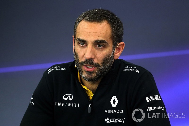 Abiteboul: Red Bull ve McLaren'i desteklemek büyük onur