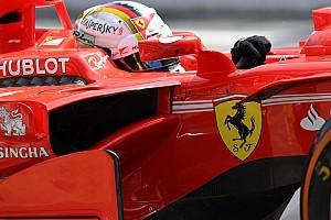 F1 Noticias de última hora Vettel se disculpó con Ferrari pero alabó al equipo