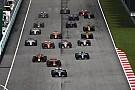 Formel 1 2017 in Sepang: Das Rennergebnis in Bildern