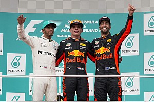Formula 1 Race report Malaysian GP: Verstappen wins from Hamilton, Vettel fourth