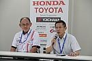 予選Q1のミディアムタイヤ義務付けについて、JRP倉下社長が説明