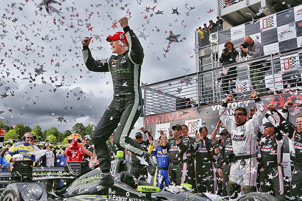 IndyCar у Барбері: прокол Пауера подарував перемогу Ньюгардену