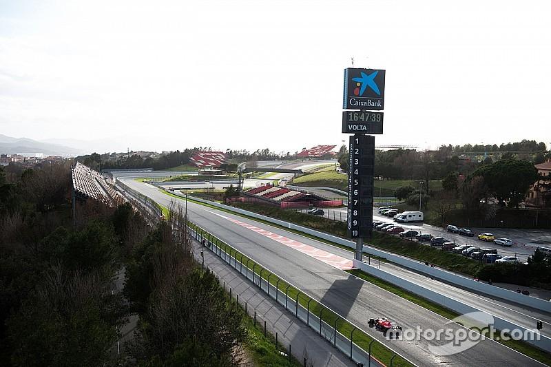 コメントライブ&総合順位:F1バルセロナ合同テスト2日目