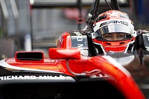 GP3 Kwalificatieverslag GP3 Spa: Russell grijpt pole op opdrogende baan