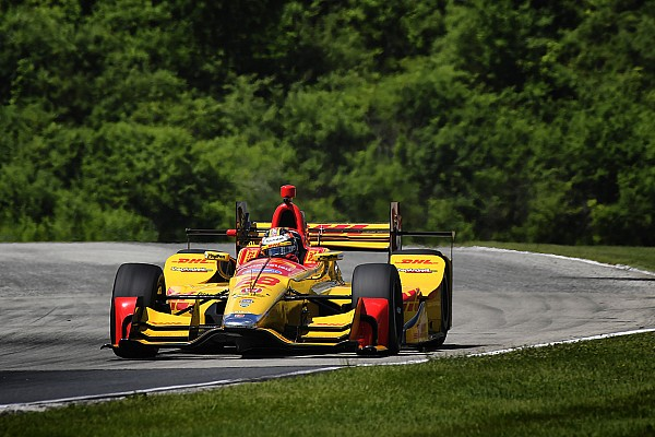 IndyCar Practice report Road America: Hunter-Reay tops warm-up