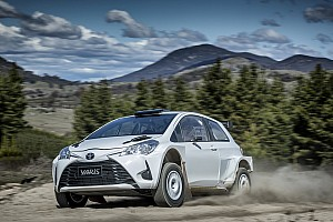 Other rally Breaking news Harry Bates shakes down AP4 Yaris in Australia