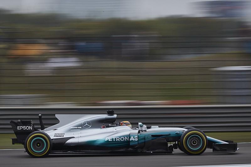 Hamilton, intrigado por cómo evolucionará el Mercedes