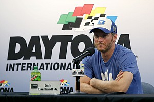 NASCAR Cup Interview Dale Jr. is done competing full-time, but not done racing