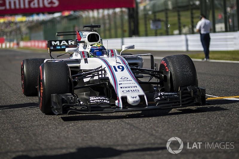 A Williams már csak 2018-as fejlesztéseket tesztel