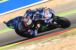MotoGP 2017 Aragon: Vinales-Pole, Marquez-Sturz, Rossi in Reihe 1