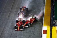Secuencia del accidente que costó parte del mundial 2017 a Vettel