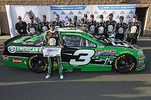 NASCAR Cup Qualifying report Austin Dillon swipes Fontana pole from Kevin Harvick