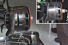 Tech update: Weer een andere brake drum bij McLaren