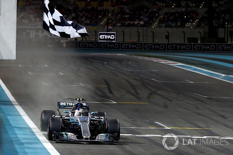 Bottas nyerte az évadzáró Abu Dhabi Nagydíjat Hamilton és Vettel előtt