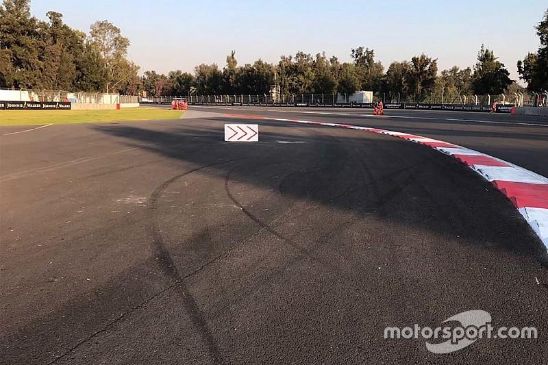La FIA hace más cambios en México por los límites de pista
