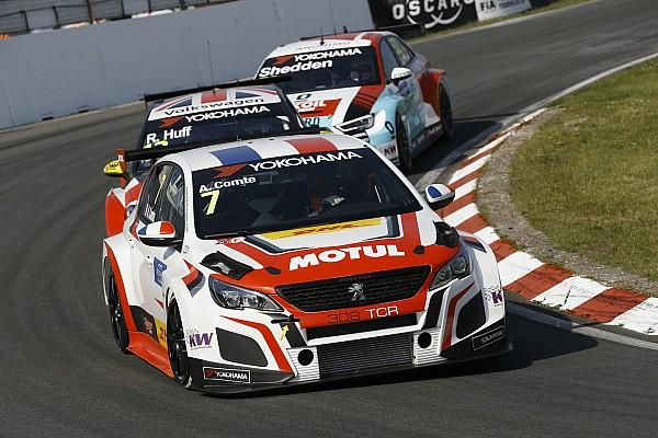 WTCR Comte lerajtolta Thompsont és nyert a WTCR 2. futamán, vert mezőnyben a Hyundai