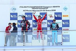 Fórmula 4 Relato da corrida Enzo Fittipaldi vence na primeira etapa da F-4 Italiana