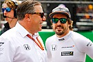 Alonsohabla de su jefe en McLaren: