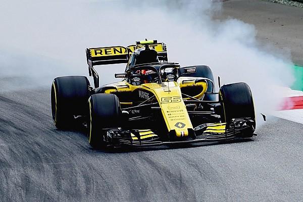 Sainz says blistering made Renault car