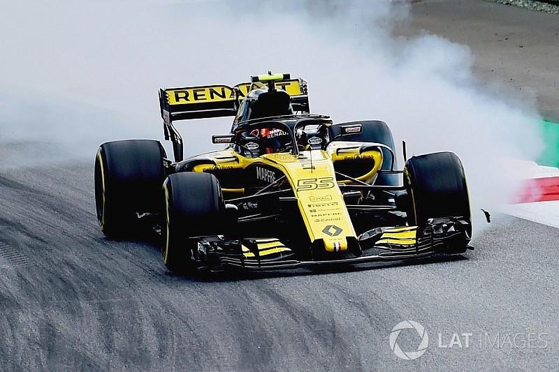 Sainz: Renault lastik sorunlarını çözmeli