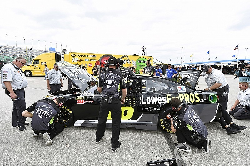 NASCAR growing increasingly frustrated with inspection failures